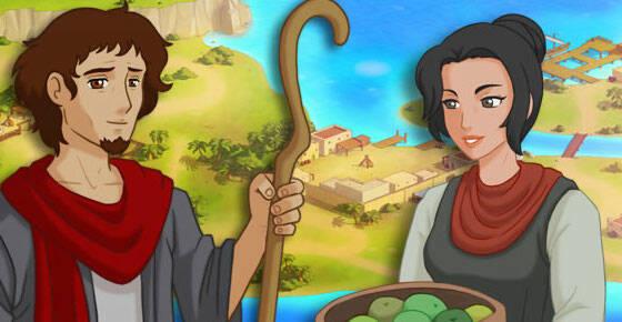 En busca de Jesús, videojuego para móviles y tablets diseñado por Kupina.,en busca de jesus