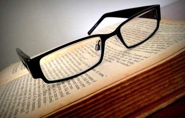 ,gafas, libro