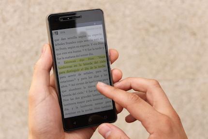 La Biblia Reina-Valera sigue viva... en los móviles.
