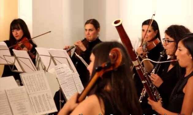 Parte del grupo de cámara Ensemble Bohórquez,Ensenle Bohórquez, #500Reforma