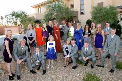 La familia Brown del reality show Sister Wives