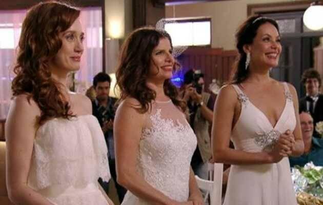 Las telenovelas de Brasil incluyen tramas poliamorosas / Foto de la serie 'Avenida Brasil', TV Globo,poliamor, trio amoroso