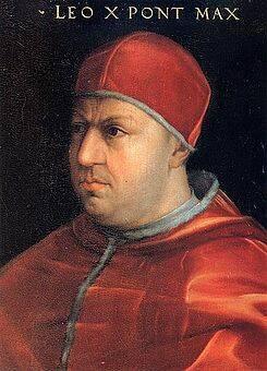 El Papa León X.