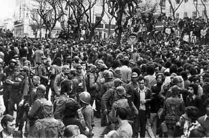 Los portugueses se echaron a la calle