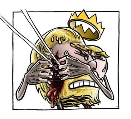 En libro de Auderset, el rey ofrece una solución dolorosa.