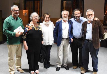 Los ponentes del primer día del encuentro Adece en Santiago de Compostela. / Héctor Rivas.