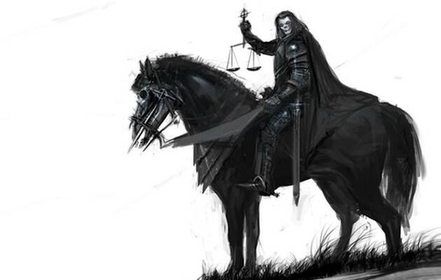 ,caballo negro, jinete apocalipsis