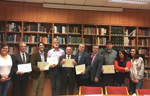 Rectores de las facultades de teología, junto a personal de Ferede.,ferede educacion