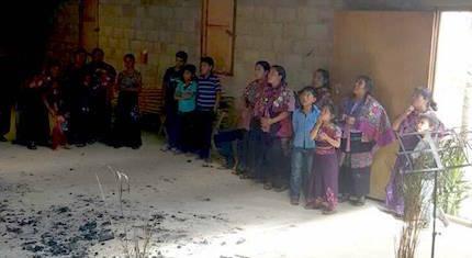 Una iglesia evangélica en Chiapas fue incendiada en un ataque en febrero de 2016. / CoC