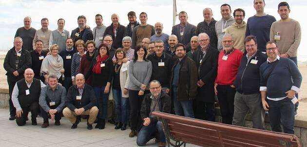 Los participantes del encuentro regional de Cataluña y Aragón, de febrero 2017.,