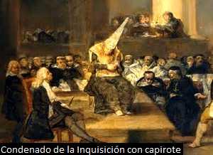 El capirote nazareno de las procesiones, residuo de la Inquisición