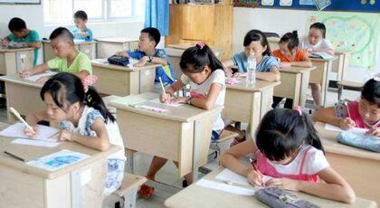 Niños en un campamento de verano. / China Aid