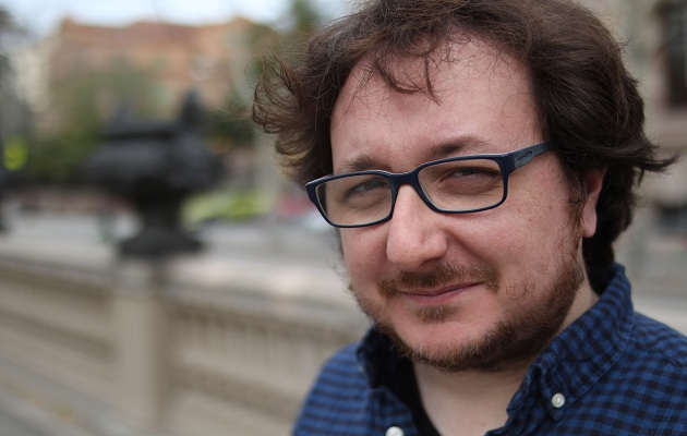 El escritor Daniel Jándula. / Jonatán Soriano,