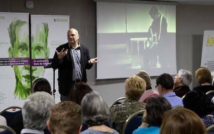 José de Segovia habló sobre cultura, pop y fe. / Fórum Apologética
