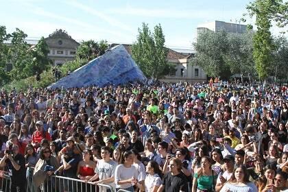 Cerca de mil personas celebraron la Reforma en el Parque de la Estación del Norte. / Facebook Festa de les Reformes
