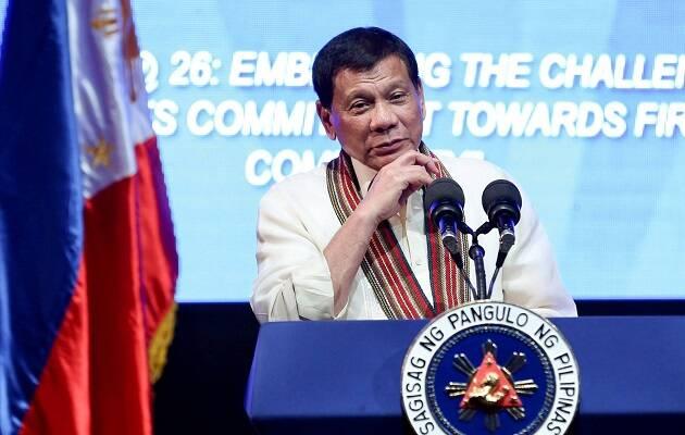 El presidente de Filipinas, Rodrigo Duterte. / Facebook Rody Duterte,