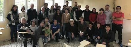 El grupo de la Unión Médica Evangélica durante uno de los últimos encuentro. / UME