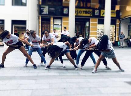 La campaña llevó baile, teatro, música y testimonios a las calles. / FADE