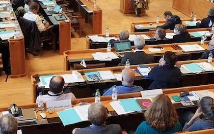 Uno de los instantes durante la asamblea de este octubre. / SEK, N. Rauscher