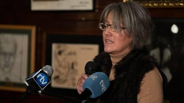 La historiadora Evangelina Sierra./Fundación RZ