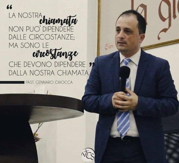 El pastor Gennaro Chiocca.