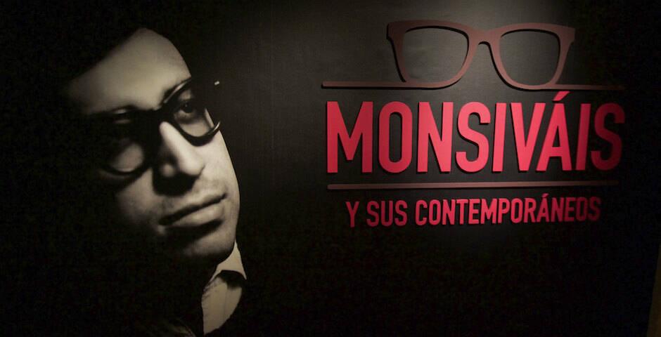 Exposición dedicada a Monsiváis en México. / Milton Martínez / Secretaría de Cultura CDMX,