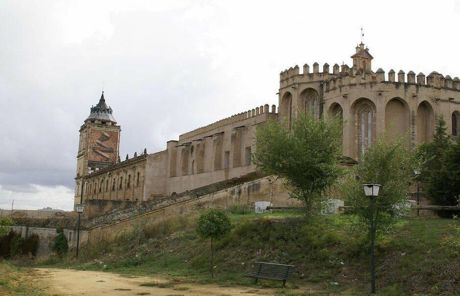 El monasterio de San Isidoro del Campo, en Santiponce, Sevilla. / Tyk, Wikipedia, CC 3.0,