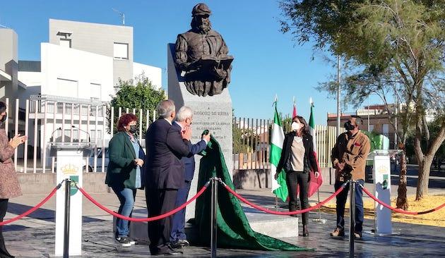 Se inaugura el monumento a Casiodoro de Reina