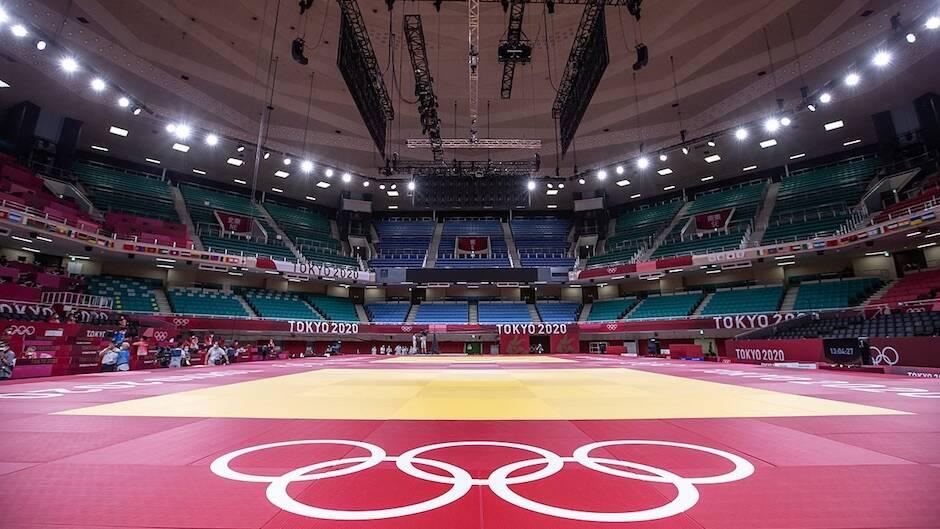 Poco antes del inicio de los Juegos Olímpicos de Tokio 2020, las autoridades confirmaron su decisión de no permitir público en los estadios. / Secretaría de Deportes, Wikimedia Commons,