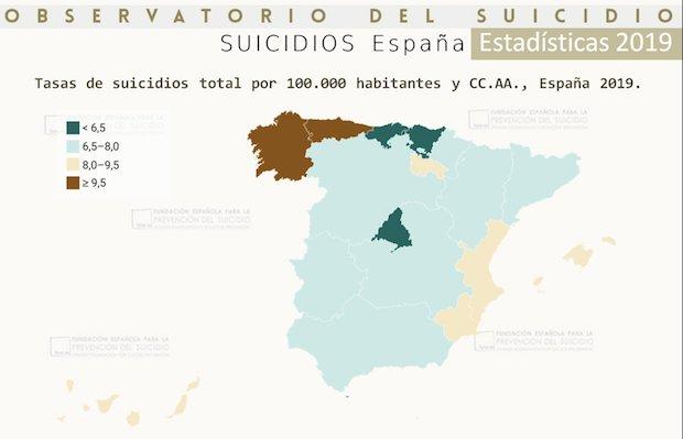 El suicidio es la primera causa de muerte en España entre los menores de 30 años