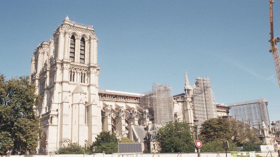 """Obras de restauración de la Catedral de Notre-Dame, en Paris. /<a target=""""_blank"""" href=""""https://unsplash.com/@ddography"""">Deniz Demirci</a>, Unsplash,catedral, notre dame"""