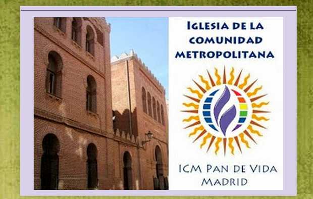 <p> La ICM anuncia sus actividades con la fachada del templo que comparten con la IEE en la calle Noviciado / web de la ICM</p> ,