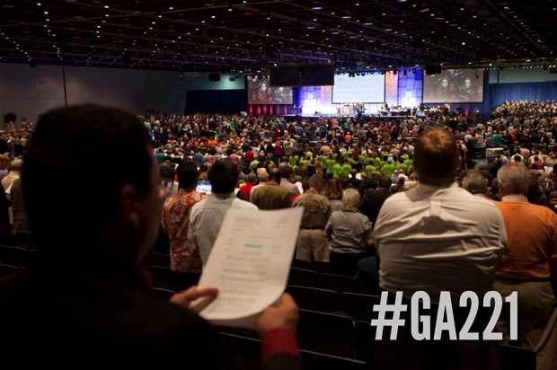 <p> 221 Asamblea de la Iglesia Presbiteriana en Estados Unidos. / Facebook PCUSA</p> ,