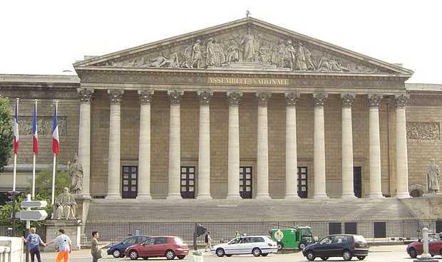 <p> Sede de la Asamblea Nacional de Francia en Par&iacute;s.</p> ,
